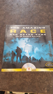 the amazing race Dvd board game