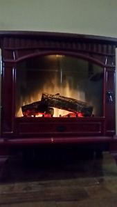 Electric Fireplace for sale (Burgundy Dimplex)