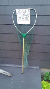 Aluminum Dip Net - NEW with spare netting