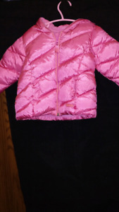 12 Month...Girls ...Puffy soft coat.  EXCELLENT CONDITION