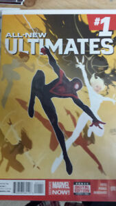 ALL NEW ULTIMATES comics Spider Man Miles Morales