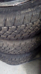 Set of Very Good Snow Tires on Rims 215 70R15 $280