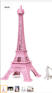 Paris Eiffel Tower Theme Photo Backdrop and Decor