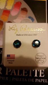 Swarovski crystal earrings studs
