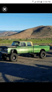 Looking for the first generation Dodge crew cab truck