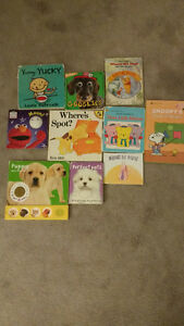 10 children's book's