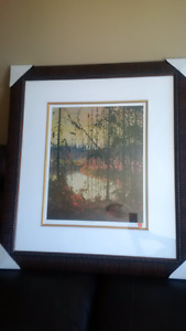 Painting, Groupe of 7, 'Northern River' by Tom Thomson 185/300