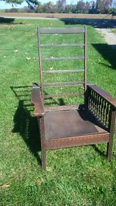 Antique Morris Recliner Chair New Price Peterborough Peterborough Area image 1