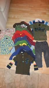 Vêtements de garçons 24-30 mois et 3 ans (lot)