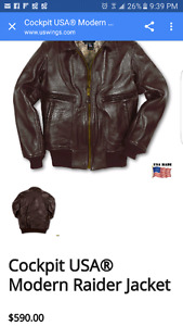Cockpit USA Modern Raider Jacket