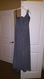 Alfred Angelo Bridesmaids Dress Rhinestone One Shoulder
