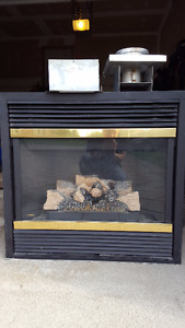 Majestic Brand Natural Gas Fireplace for Sale- Working Condition