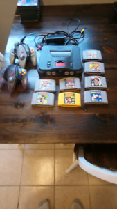 Nintendo 64 avec 8 excellents jeux