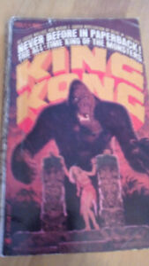 King Kong paperback 1965 , Oct