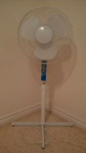 Rotating variable speed fan