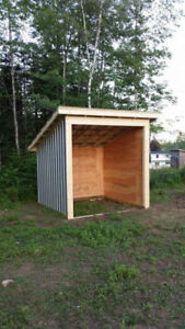 10' x 10' steel shelter/shed