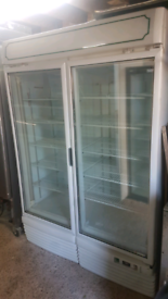 Carravell commercial double doors Freezer fully woeking