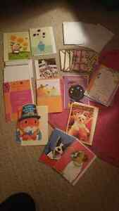 Variety of cards