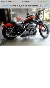 Almost new 2008 Harley only 3577 KM