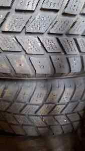 Four winter snow tires and rims  Kitchener / Waterloo Kitchener Area image 1