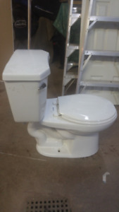 Rarely used toilet