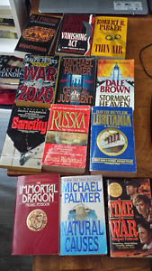 Mystery, Thriller, and Military Action Collection 51 books