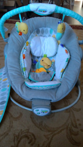 Bouncy chair, Exersaucer and Activity Gym