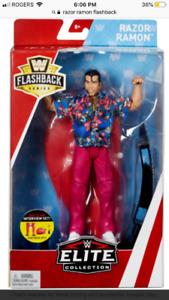 For sale WWE Flashback Series Razor Ramon ActionFigure