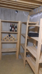 3 Wooden Shelves, only $15 for all