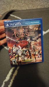 Brand new, sealed Trails of Cold Steel II Playstation Vita