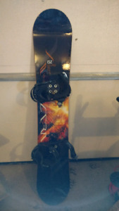 Snow board and bindings for sale