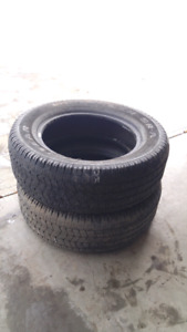 Winter tires-See add for sizes