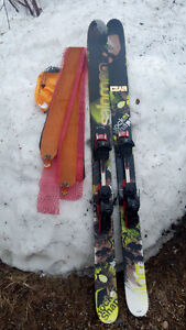 Salomon Touring Skis + BD Skins