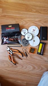 Vape Ecigarette Ecig equipment / tools, NEW, RDA coils / wire!