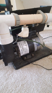 Hot tub pump motor
