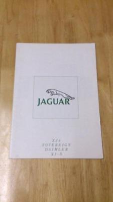 1990 Jaguar Range Brochure Inc. XJ6, Sovereign, V12, Daimler, XJS