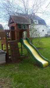 Childs swing/playset