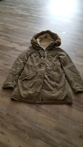 Hollister size S fall/winter coat perfect condition