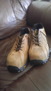 Dakota Quad comfort steel toe shoes.