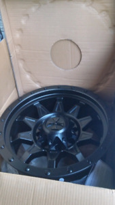 NEW 18X9 -12 8X165 8X170 CALIOFFROAD RIMS