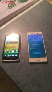 SONY AND HTC ONE X