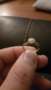 Michael Hill Engagement ring.