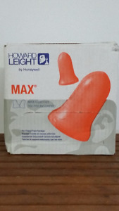 Howard Leight Max-1 Uncorded Ear Plugs 200/Box