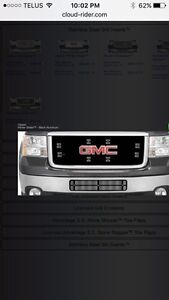 GMC Winter front grill cover