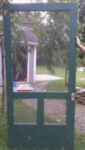 Large Antique Screen Door