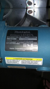 Makita mitre saw for sale