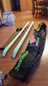 Downhill Ski package (skiis, boots, poles)