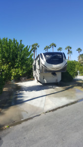 RV Lot and Trailer for Rent for 2019 - 2020 Snowbird season