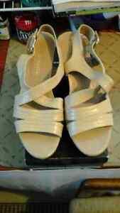 summer beige colour shoes