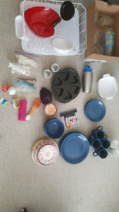 Kitchen Starter Kit - Plates, Bowls, Etc..